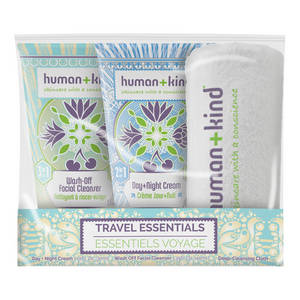 Human+Kind Ultimate Travel Essentials Kit da Viaggio