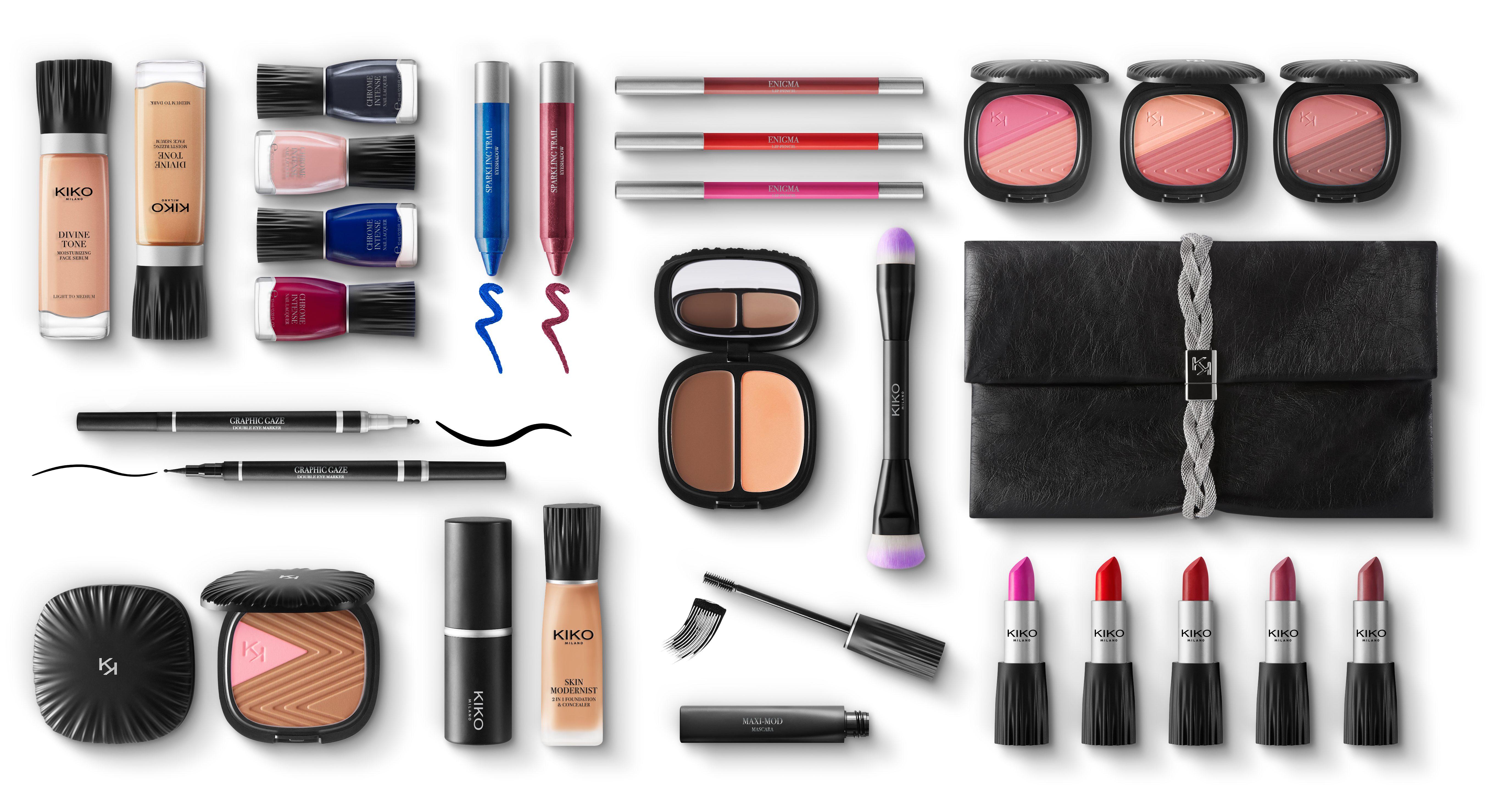 nuova collezione makeup kiko neo noir autunno inverno 2016
