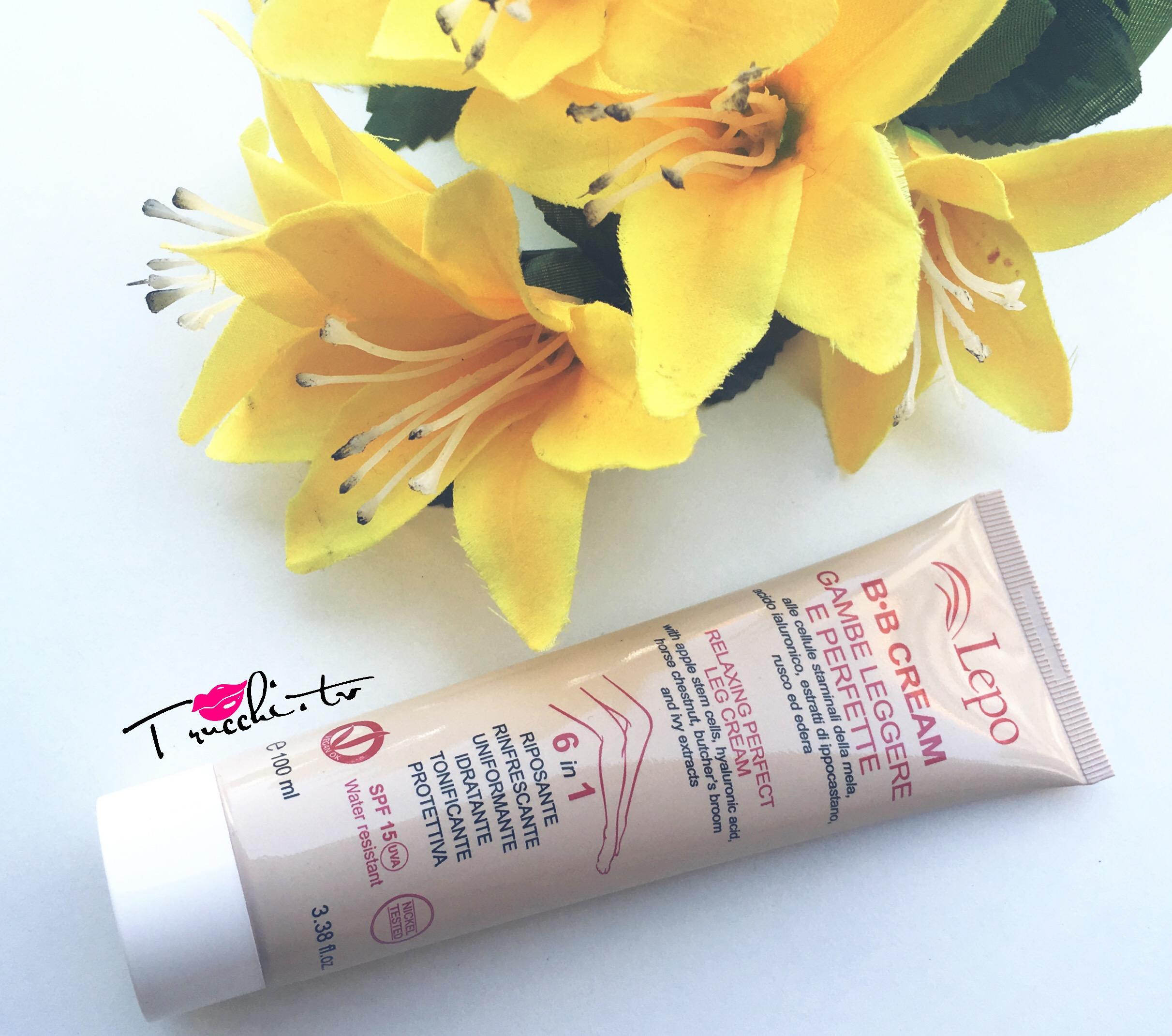 Review LEPO BB Cream per Gambe Leggere e Perfette
