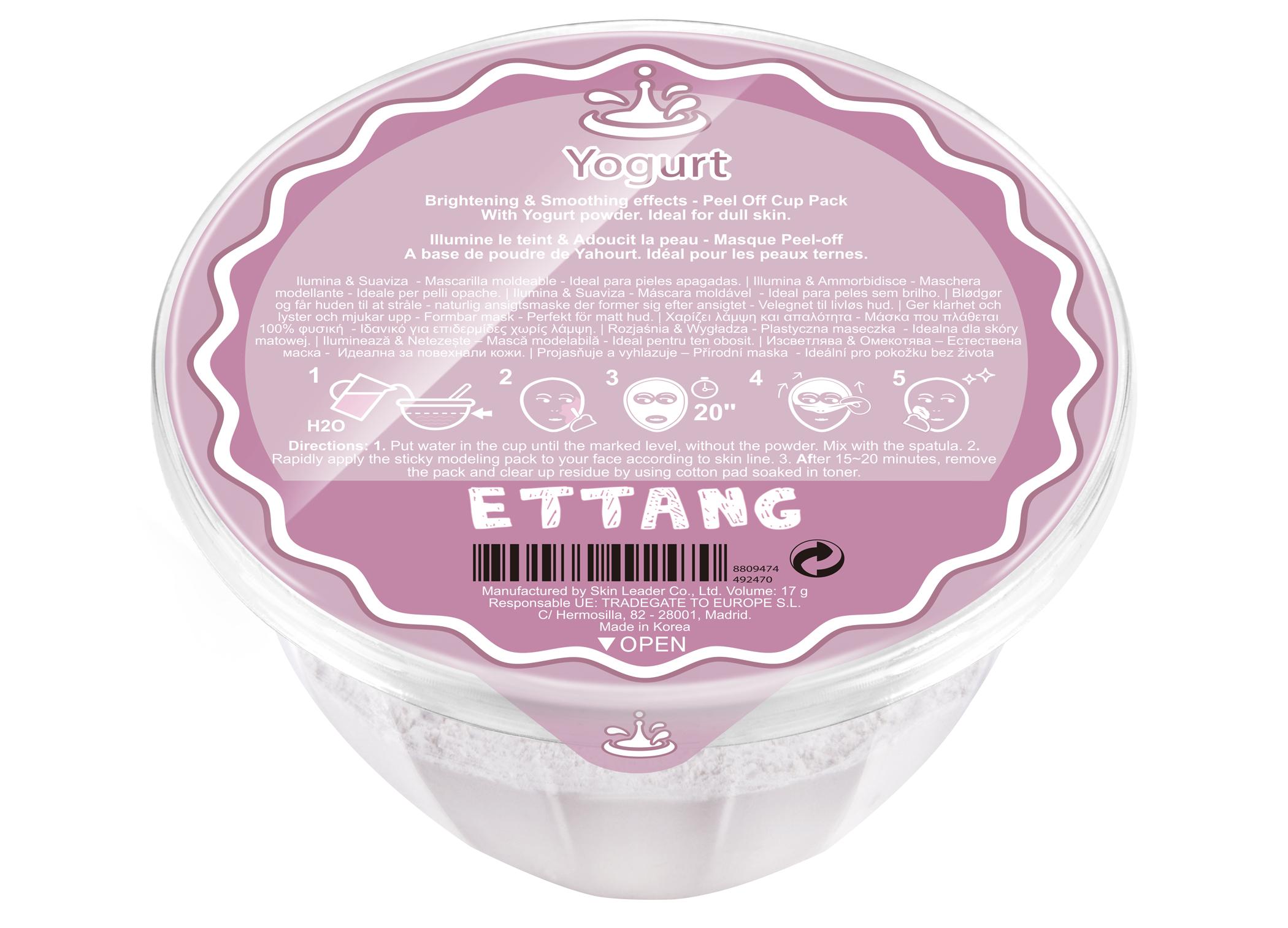 Maschera Viso Ettang Yogurt