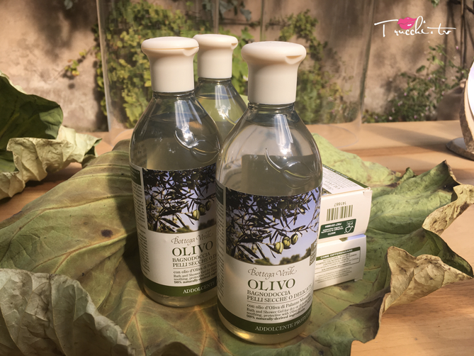 Bottega Verde Linea Olivo Natura Italiana - Bagnoschiuma
