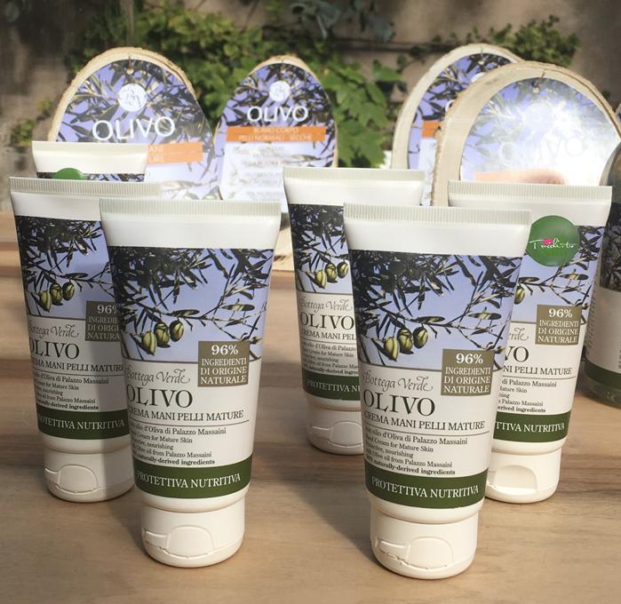 Bottega Verde Linea Olivo Natura Italiana - Crema Mani