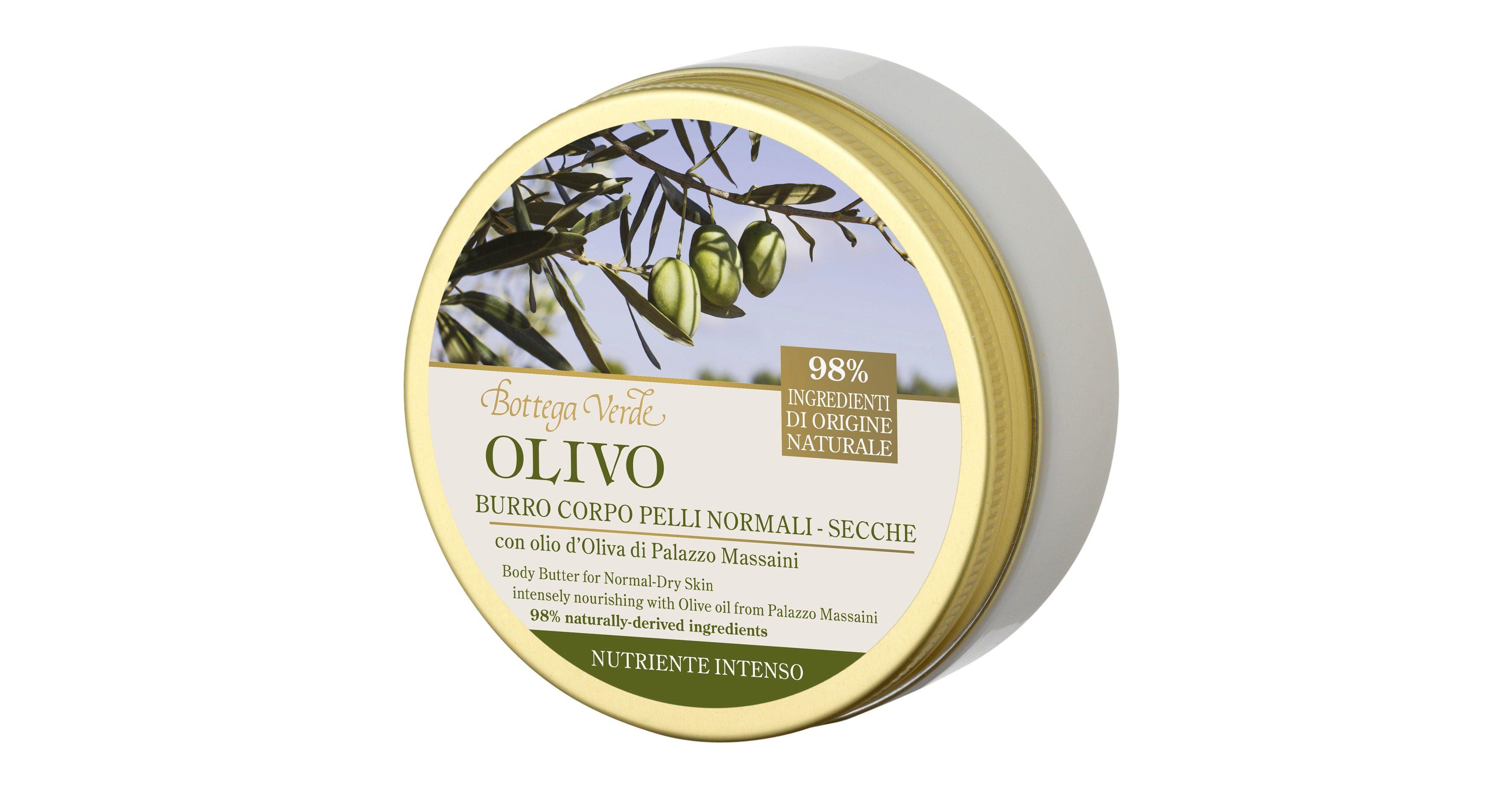 Bottega Verde Linea Olivo Natura Italiana - Burro Corpo