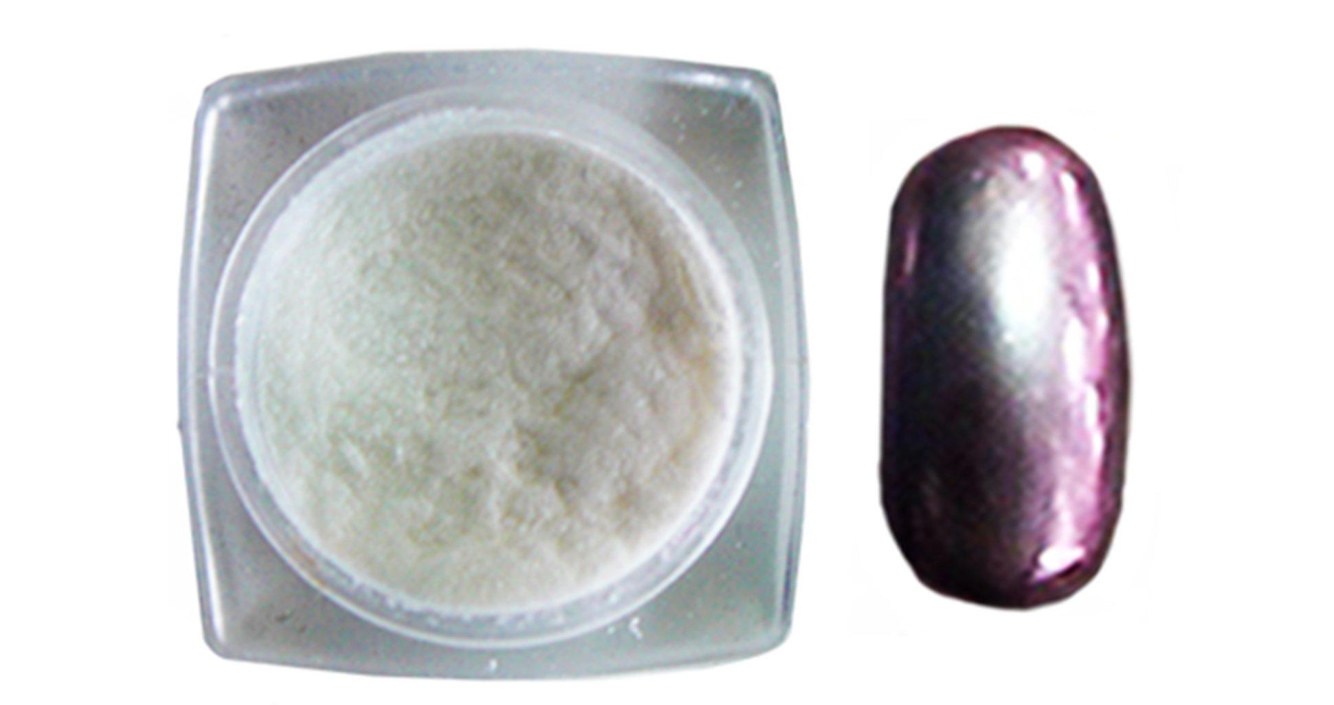 Mi ny chromatic mirror powder nuove polveri cromate per - Unghie argento specchio ...