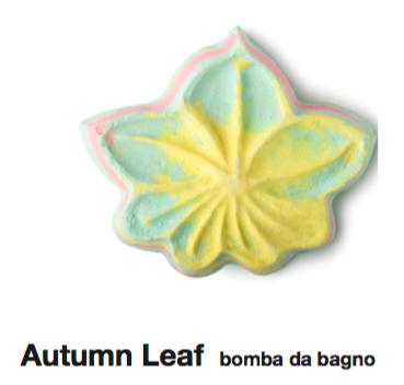 Lush Bomba da Bagno Autumn Leaf