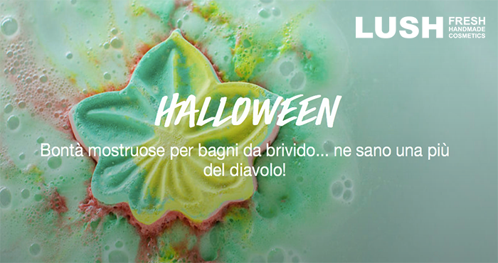 nuovi prodotti Lush Cosmetics Halloween 2016