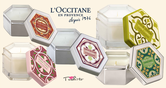 Candele Profumate L'Occitane en Provence
