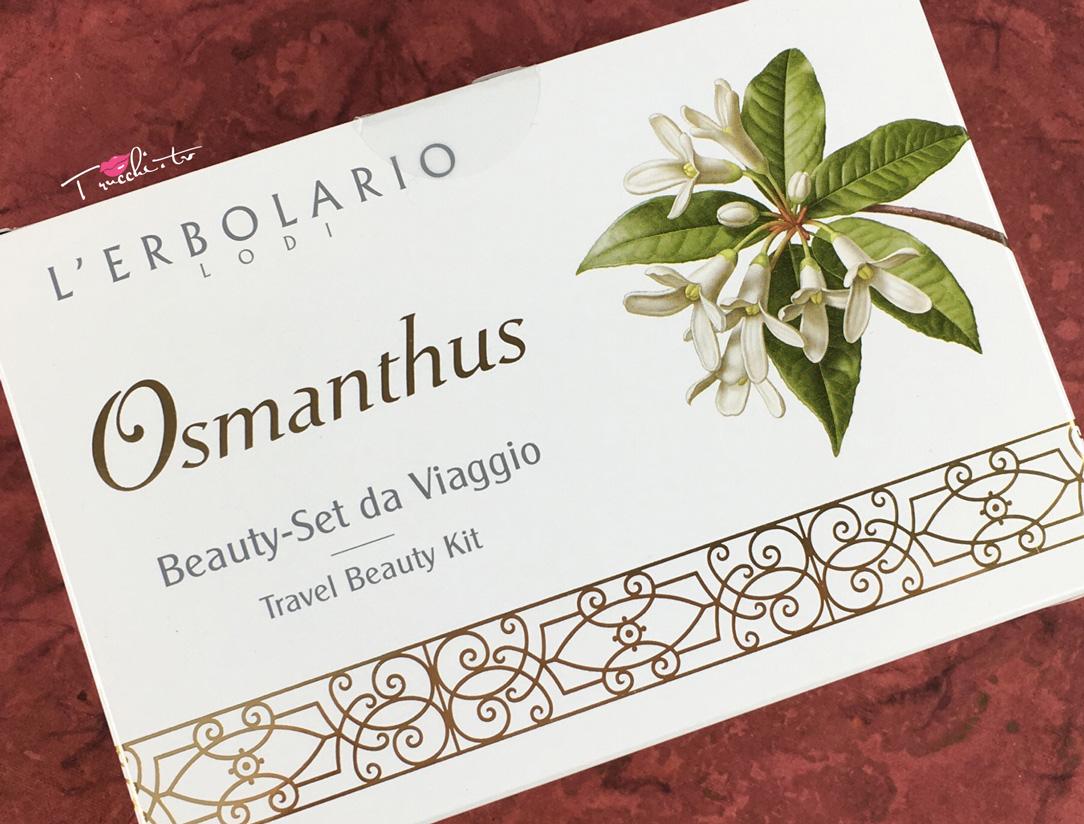 L'Erbolario Osmanthus Beauty Set da Viaggio