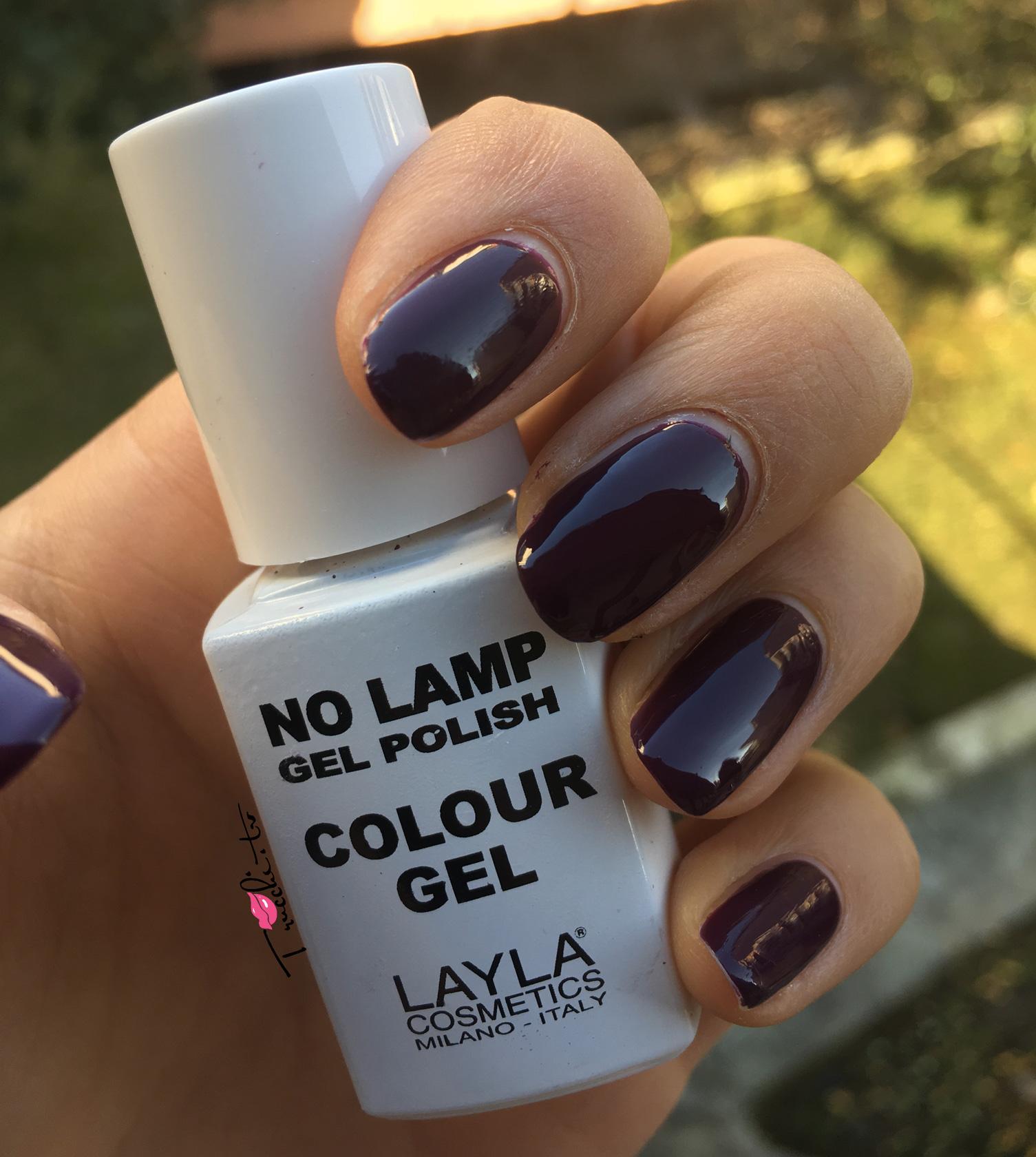 Layla No Lamp Gel Polish n°10 Purple Dance
