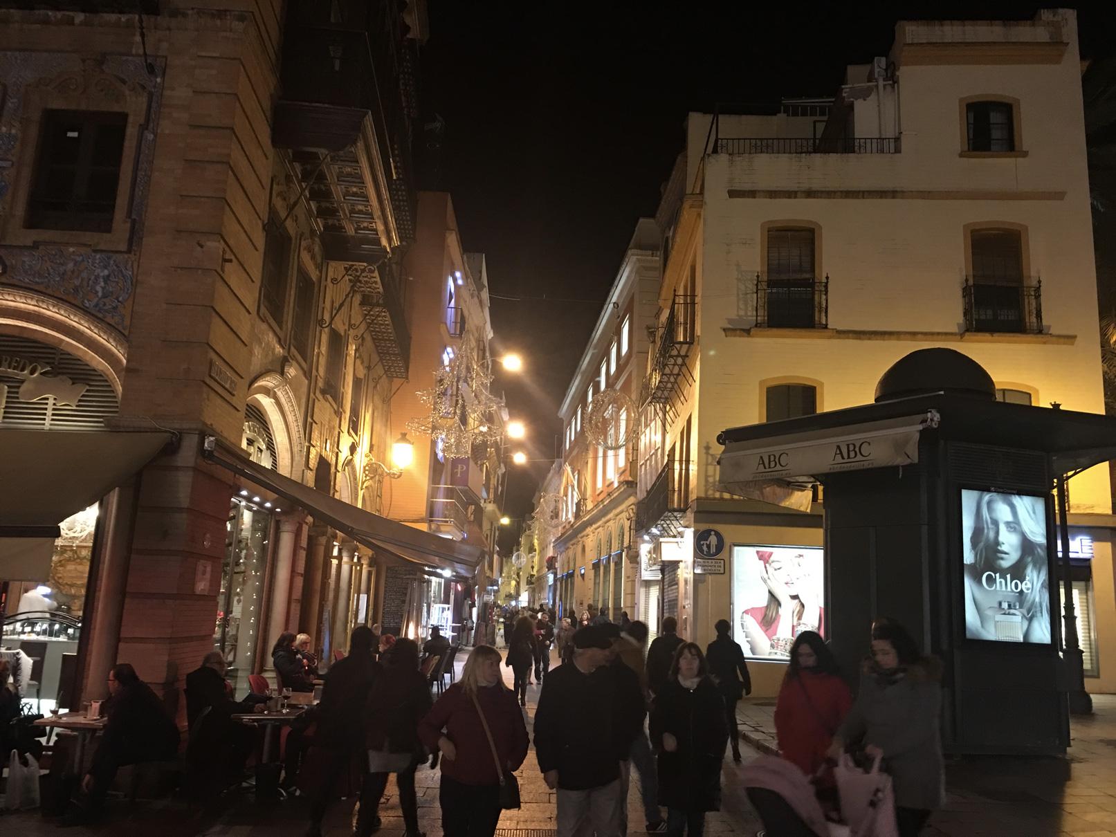 Negozi a Siviglia