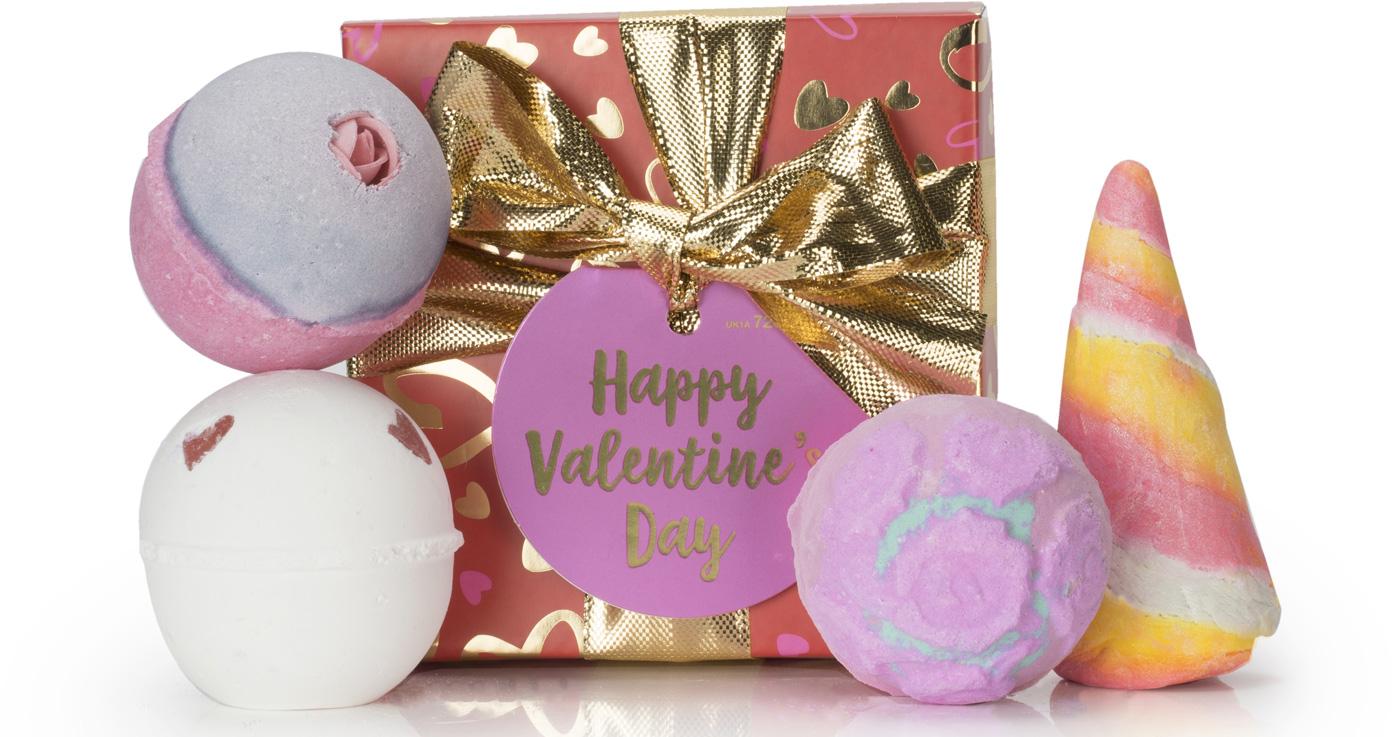 Lush Idea Regalo Happy Valentine