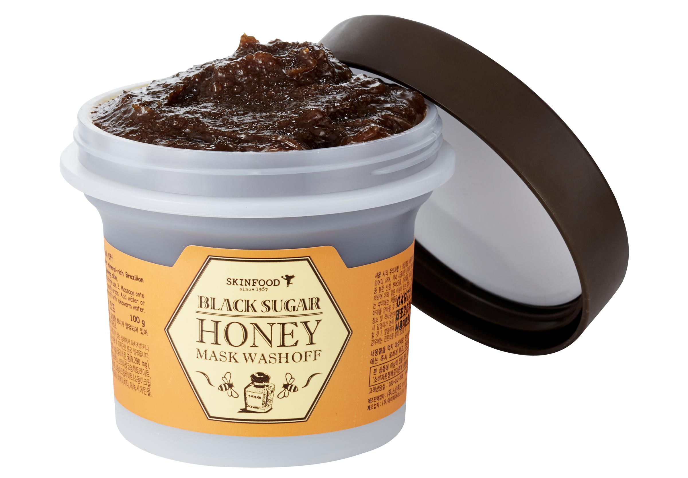 SKINFOOD Maschera Viso Black Sugar Honey Mask Wash Off