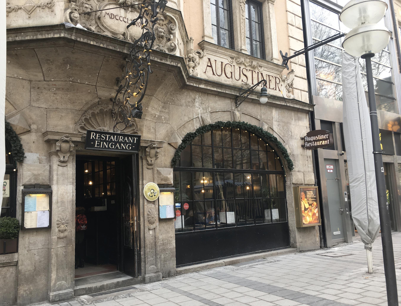 Viaggio a Monaco - Birreria Augustiner