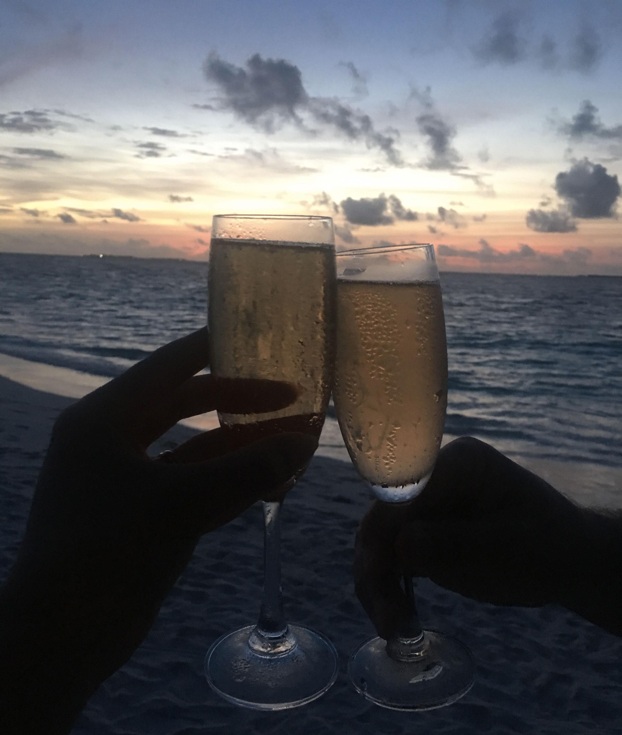 Maldive Dhigali Resort - Tramonto
