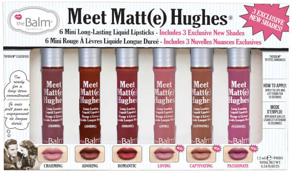 TheBalm Meet Matt(e) Hughes Mini Kit