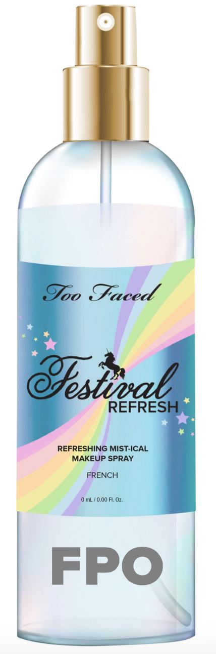 Too Faced Festival Refresh Mist