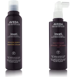 Aveda Invati Exfoliating Shampoo & Aveda Invati Spray Revitalizer